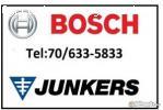 Junkers Bosch gázkészülék szervíz